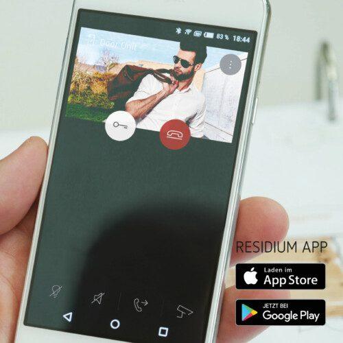 Mobile Innensprechstelle RESIIDIUM App